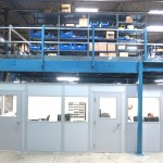 Aerotec Labs Increases Space With Modular Offices and Mezzanines
